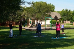 Yoga in the Park 3