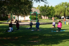Yoga in the Park 5