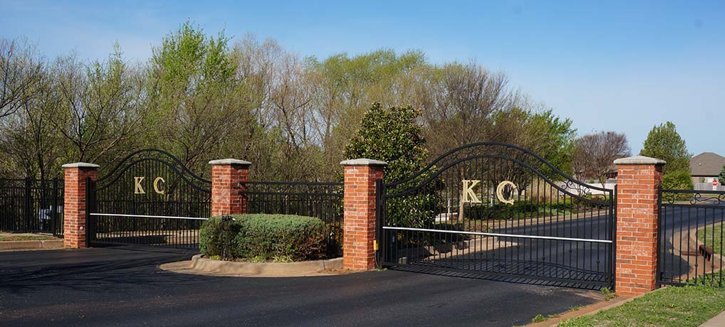 KC Gate in Spring 2020